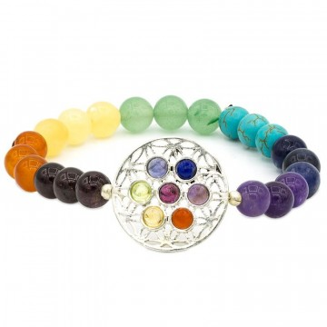 Chakra armbånd flower of life