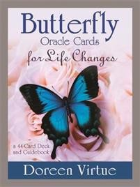 Butterfly Oracle Cards for life changes, Doreen Virtue