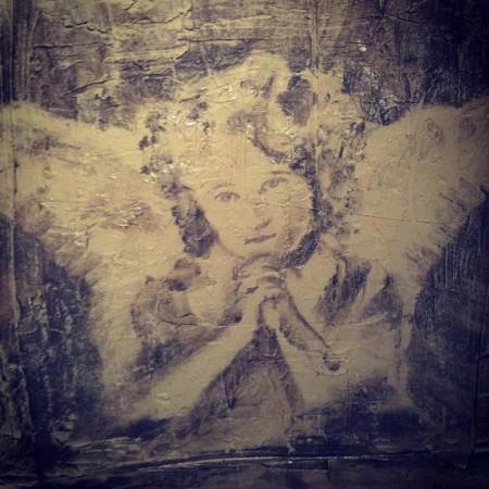 Maleri akryl